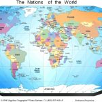 Free Printable World Map With Countries Labeled And Travel With Free Printable World Map For Kids With Countries