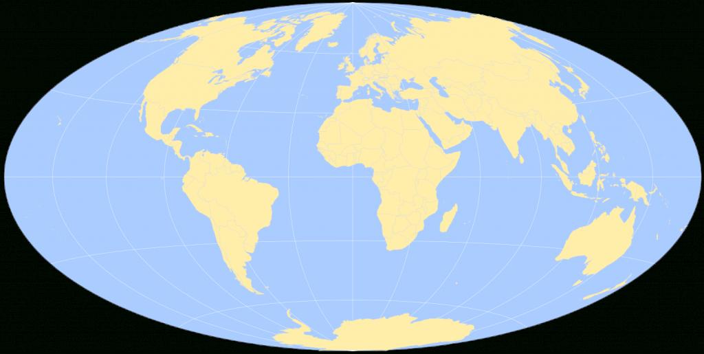 Free Printable World Maps pertaining to Basic World Map Printable