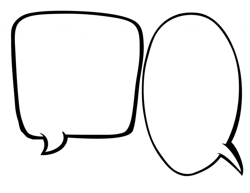 Free Speech Bubble Printable, Download Free Clip Art, Free Clip Art regarding Bubble Map Printable