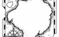 Printable Treasure Map Template