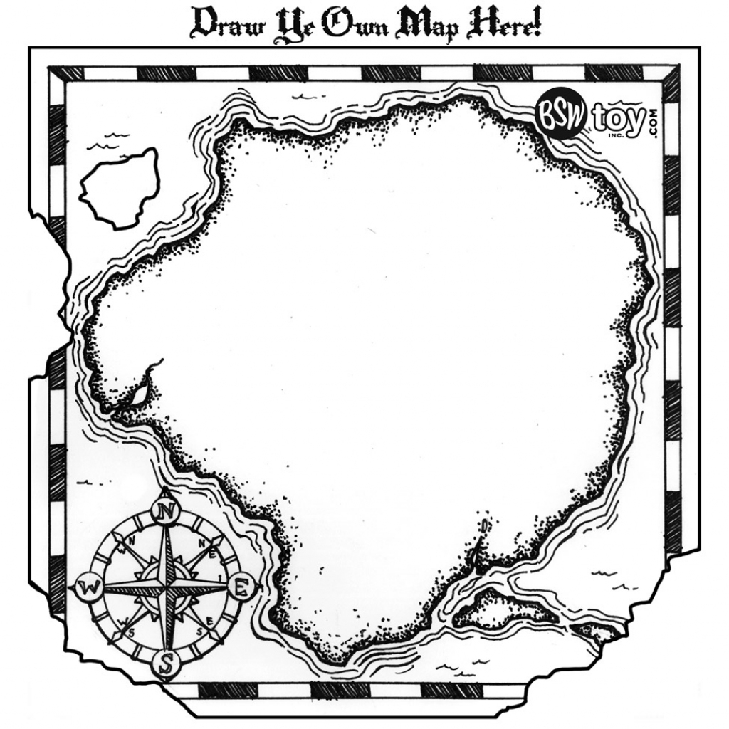 Free Treasure Map Outline, Download Free Clip Art, Free Clip Art On within Blank Treasure Map Printable