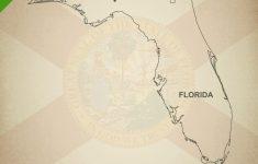 Florida Map Outline Printable