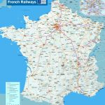 French Railway Network Map   About France Travel Intended For Printable Map Of France With Cities And Towns