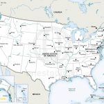 Fresh Map Usa States Cities Printable 2018 Of The United With Major In Printable Map Of Usa States And Cities