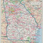 Ga Road Maps And Travel Information | Download Free Ga Road Maps Regarding Georgia Road Map Printable