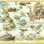 Galapagos Islands Map   Galapagos Islands • Mappery | Baby/bridal For Printable Map Of Galapagos Islands
