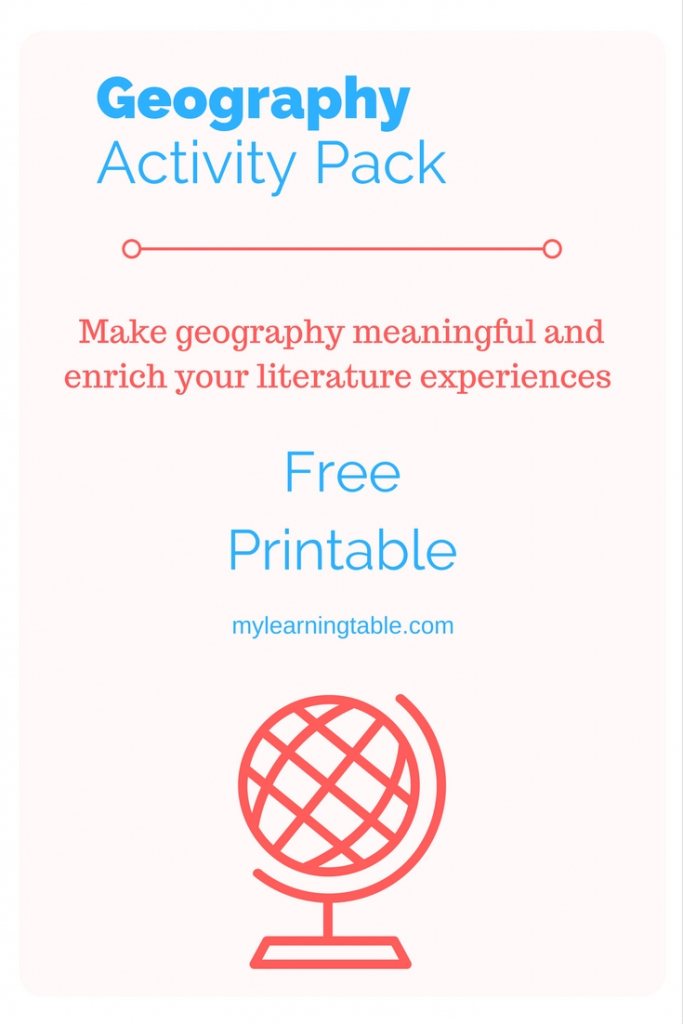 Geography Story Map Activity – Learning Table throughout Printable Story Map