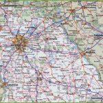 Georgia State Maps | Usa | Maps Of Georgia (Ga) Within Georgia Road Map Printable
