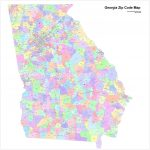 Georgia Zip Code Maps   Free Georgia Zip Code Maps Pertaining To Atlanta Zip Code Map Printable