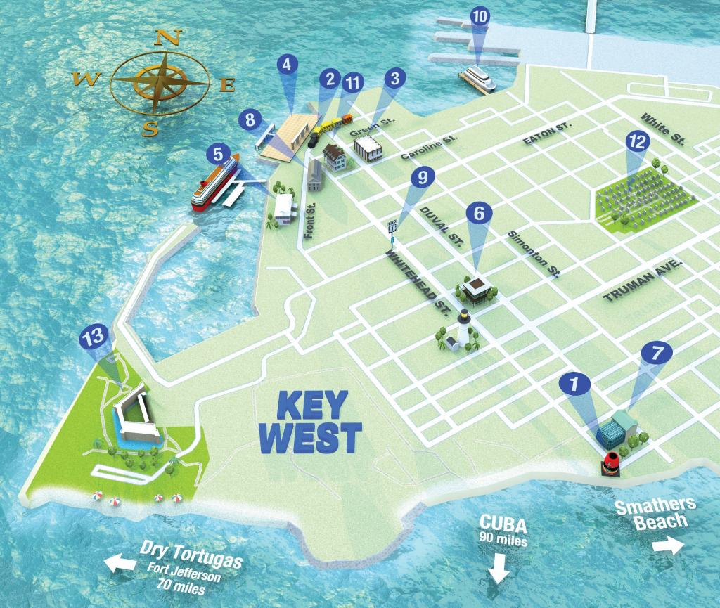 Getting Around Key West | Key West Florida Weekly | Key West News inside Key West Street Map Printable