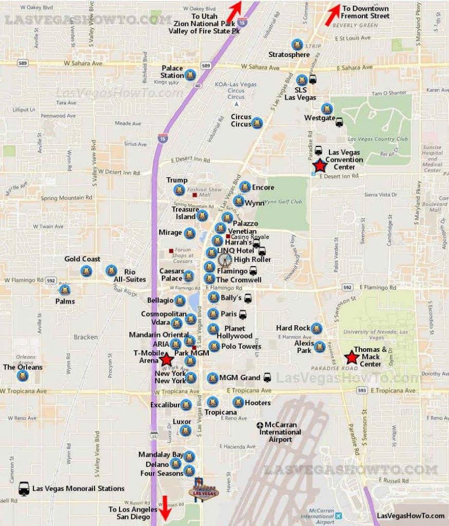 Getting Around Las Vegas In 2019 | Vegas | Vegas Strip Map, Las with regard to Printable Map Of Vegas Strip 2017
