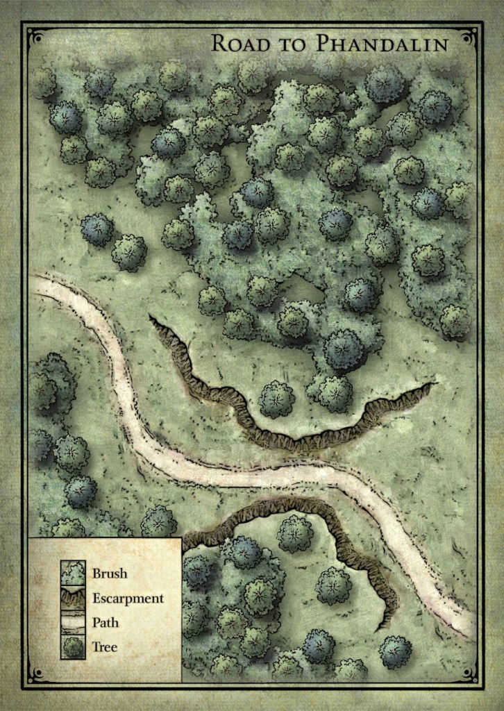 Goblin Ambush Map - Lost Mine Of Phandelver | D&d Maps In 2019 throughout Lost Mine Of Phandelver Printable Maps