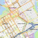 Golden Triangle, Ottawa   Wikipedia Regarding Printable Map Of Ottawa