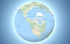 Google Maps Now Depicts The Earth As A Globe – The Verge in Google Earth Printable Maps