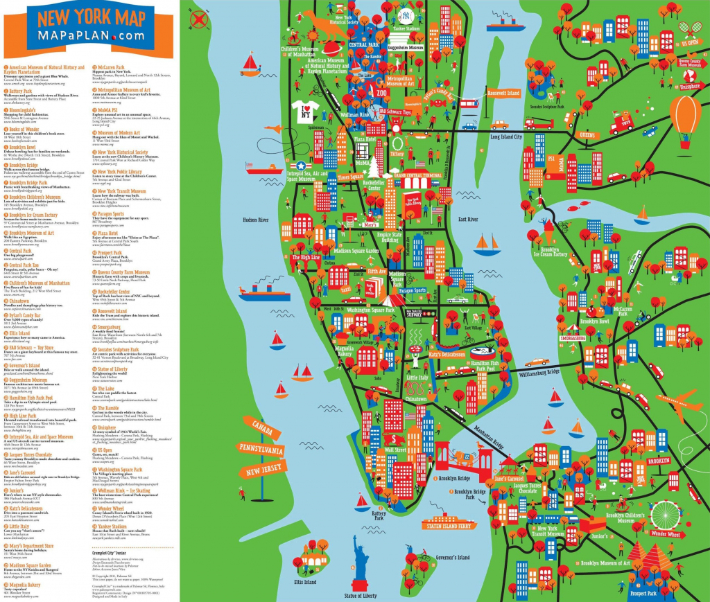 Great-Things-To-Do-With-Kids-Children-Interactive-Colorful-New-York regarding Nyc Tourist Map Printable