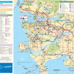 Greater Vancouver Tourist Map Intended For Printable Map Of Vancouver