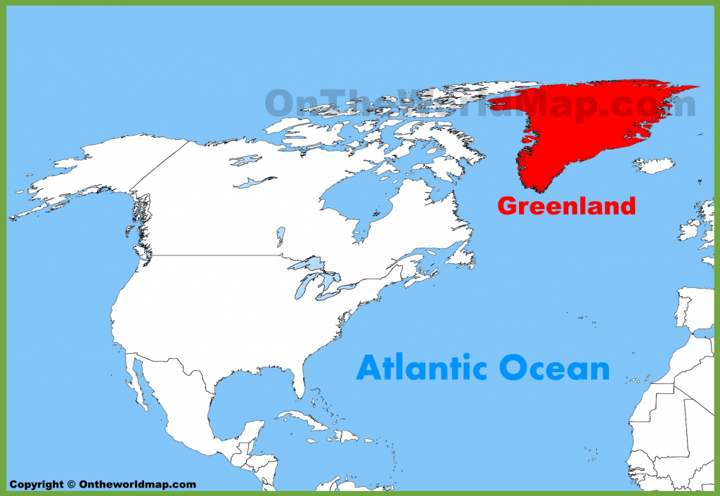 Greenland Maps | Maps Of Greenland intended for Printable Map Of Greenland