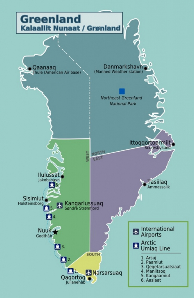 Greenland Maps | Maps Of Greenland with regard to Printable Map Of Greenland