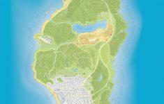 Gta 5 Printable Map