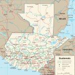 Guatemala Maps | Maps Of Guatemala Inside Printable Map Of Guatemala