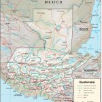 Guatemala Maps   Perry Castañeda Map Collection   Ut Library Online Regarding Printable Map Of Guatemala
