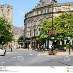 Harrogate Town Centre Editorial Photo. Image Of Road   58400116 In Printable Street Map Of Harrogate Town Centre