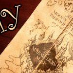 Harry Potter Marauder's Map   Diy   Youtube Throughout Harry Potter Map Marauders Free Printable