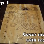 Harry Potter Paraphernalia: Marauder's Map: Inside And Outside For Harry Potter Map Marauders Free Printable