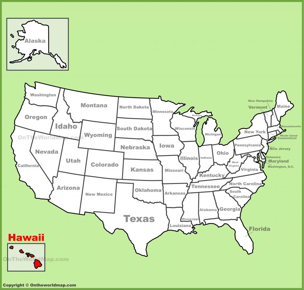 Hawaii State Maps | Usa | Maps Of Hawaii (Hawaiian Islands) with Printable Map Of Hawaiian Islands