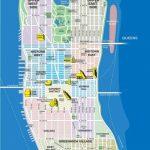 High Resolution Map Of Manhattan For Print Or Download | Usa Travel Regarding Printable Street Map Of Manhattan