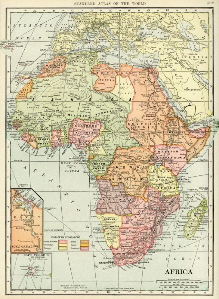 Printable Antique Maps Free