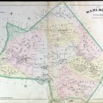 Historical Monmouth County, New Jersey Maps Throughout Printable Map Of Monmouth County Nj