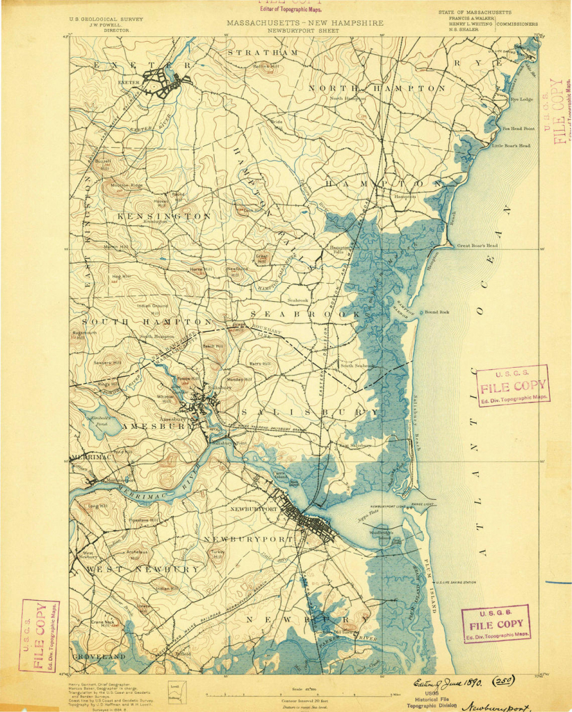 Historical Topographic Maps - Preserving The Past inside Printable Usgs Maps