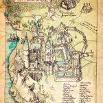 Hogwarts Print Idea | Prints For Room | Harry Potter, Hogwarts, Filmes Intended For Hogwarts Map Printable