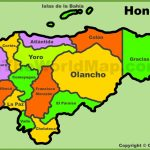 Honduras Maps | Maps Of Honduras Intended For Printable Map Of Honduras