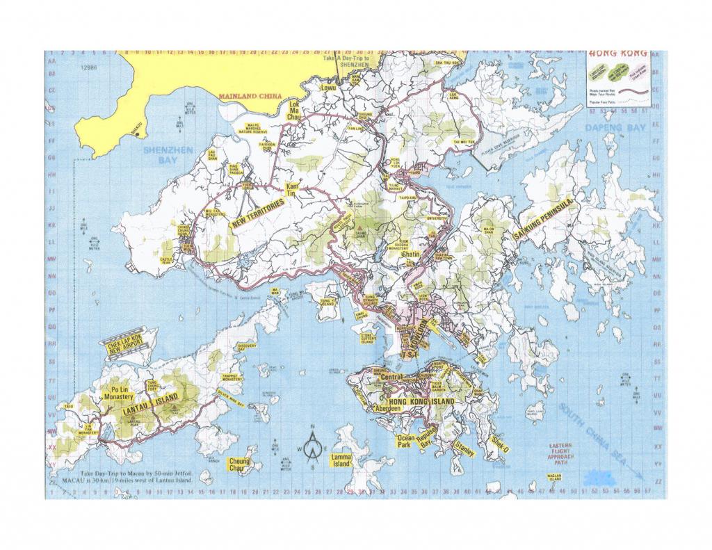 Hong Kong Map - Detailed City And Metro Maps Of Hong Kong For for Printable Map Of Hong Kong