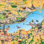 Hong Kong Tourist Map In Printable Map Of Hong Kong