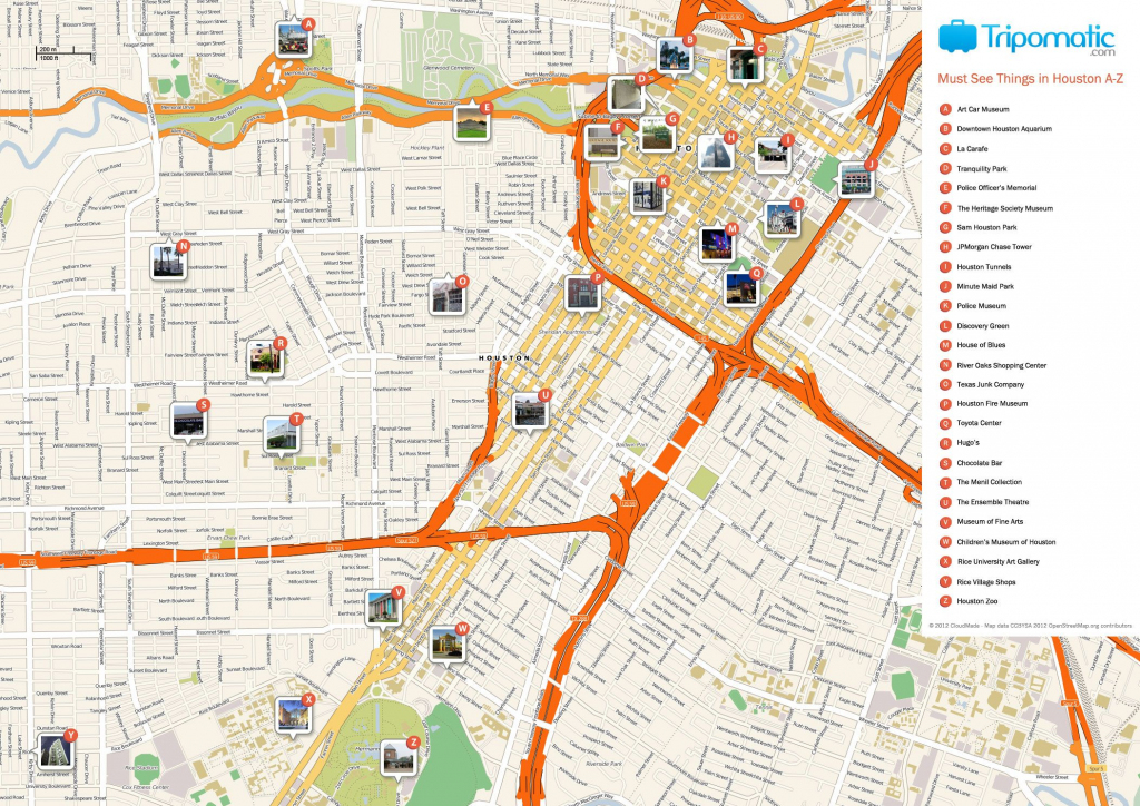 Houston Printable Tourist Map | Homeschooling & Unschooling pertaining to Printable Map Of Houston