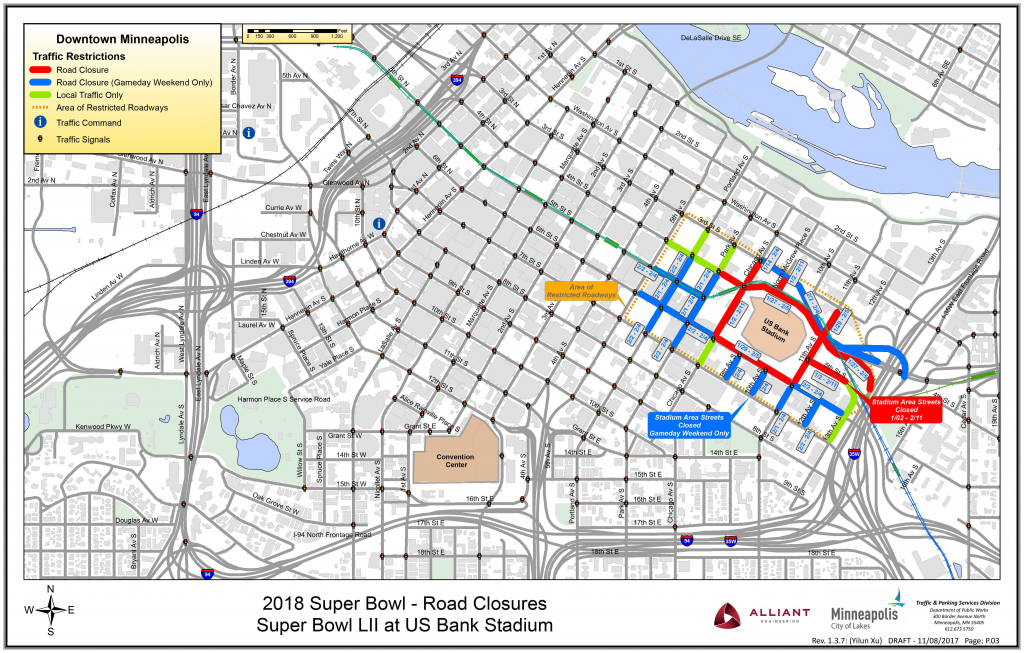 How To Get Around Minneapolis Today - Startribune in Minneapolis Skyway Map Printable