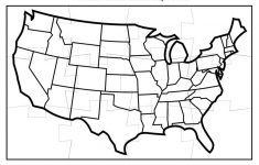 Us Map Test Printable