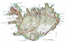 Maps Of Iceland Printable Maps