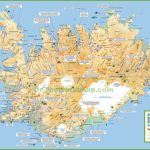 Iceland Tourist Map With Free Printable Map Of Iceland