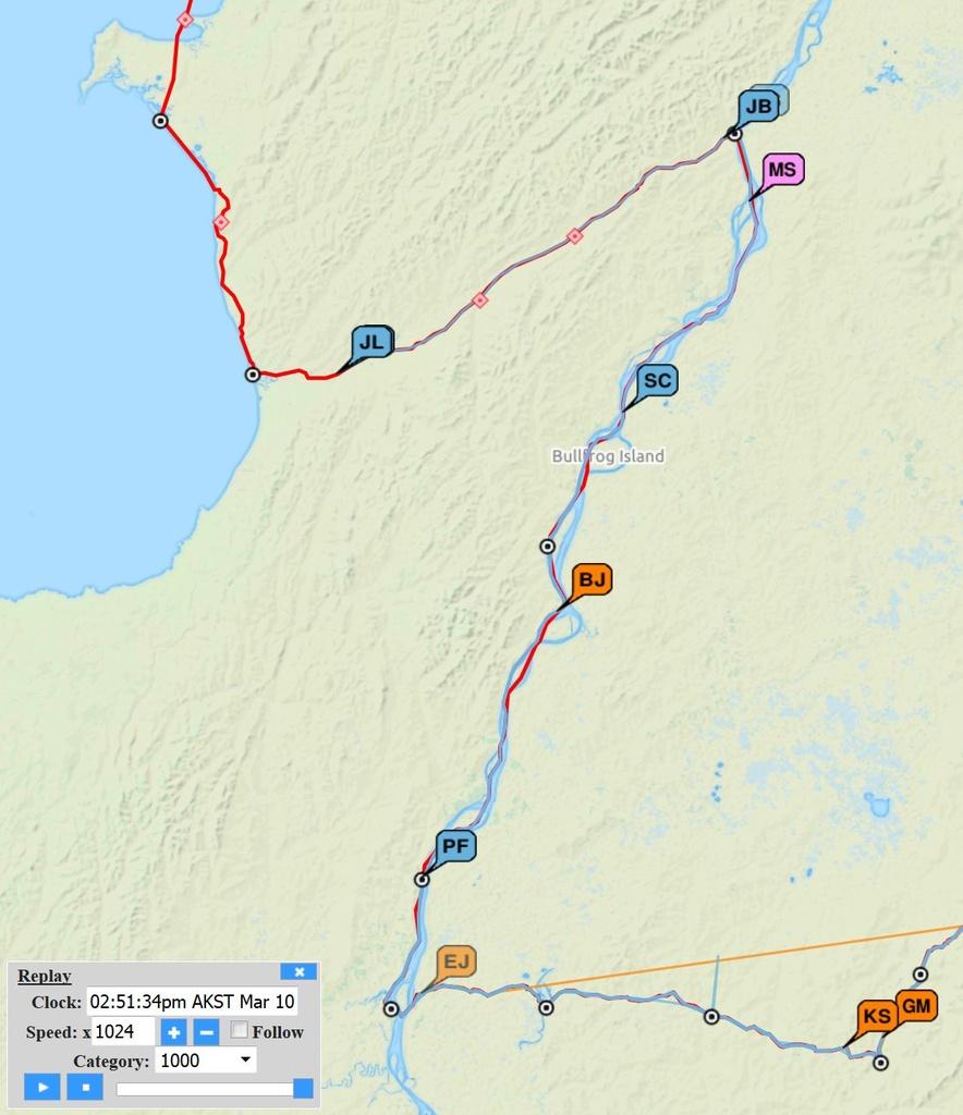 Iditarod Trail Invitational 2019 - Feb 24 - Page 3- Mtbr in Printable Iditarod Trail Map