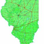 Illinois Map   Online Maps Of Illinois State Throughout Printable Map Of Champaign Il