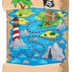 Image Result For Free Printable Pirate Treasure Map | Wallpapper In Regarding Printable Kids Pirate Treasure Map
