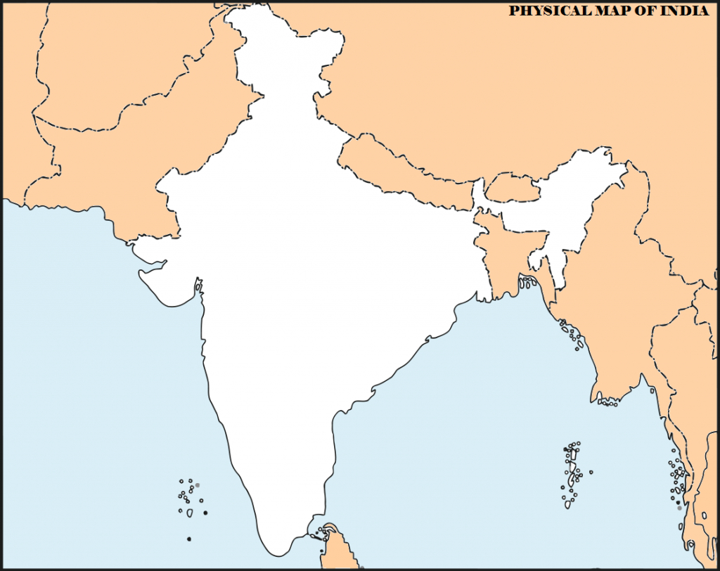 Image Result For India Physical Map | Download with regard to Physical Map Of India Printable