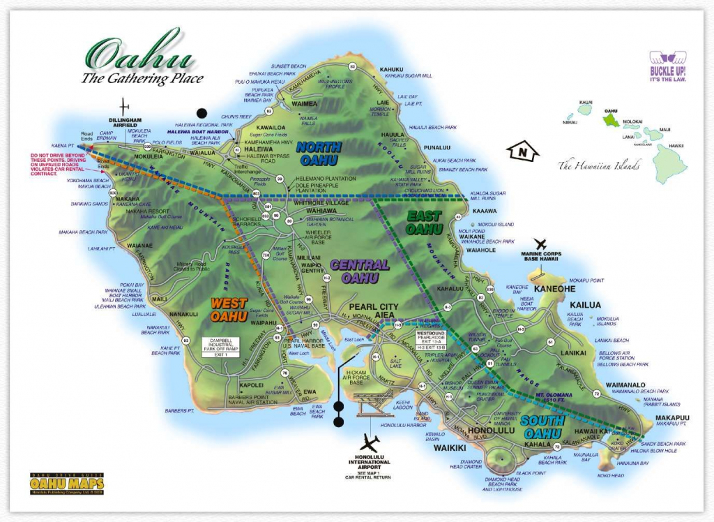 Image Result For Oahu Map Printable | Hawaii In 2019 | Oahu Map throughout Oahu Map Printable