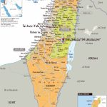 Image Result For Printable Map Of Israel | Israel Map | Map, Israel Regarding Printable Map Of Israel Today