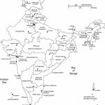 India Blank, Printable Map, Royalty Free, Clip Art | Country | India Throughout Map Of India Blank Printable