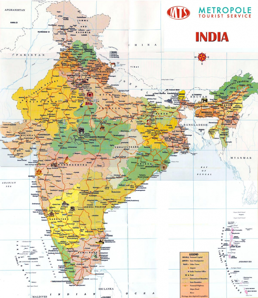 India Maps | Printable Maps Of India For Download in India Map Printable Free